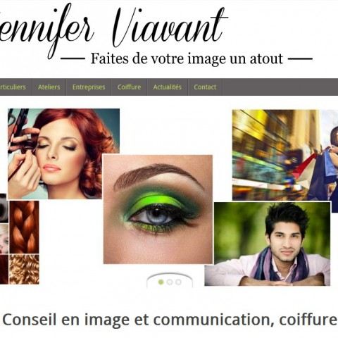 Site vitrine de Jennifer Viavant