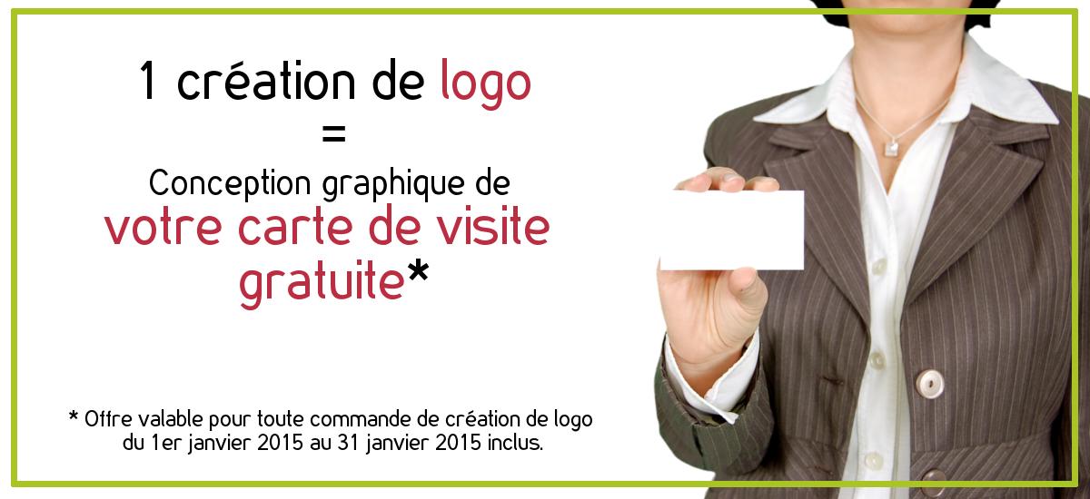 Votre Carte De Visite Gratuite Pour Toute Creation Logo