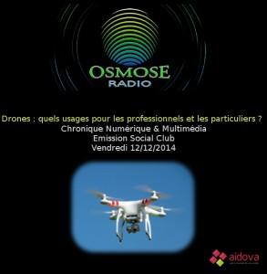 Les drones pour professionnels et particuliers