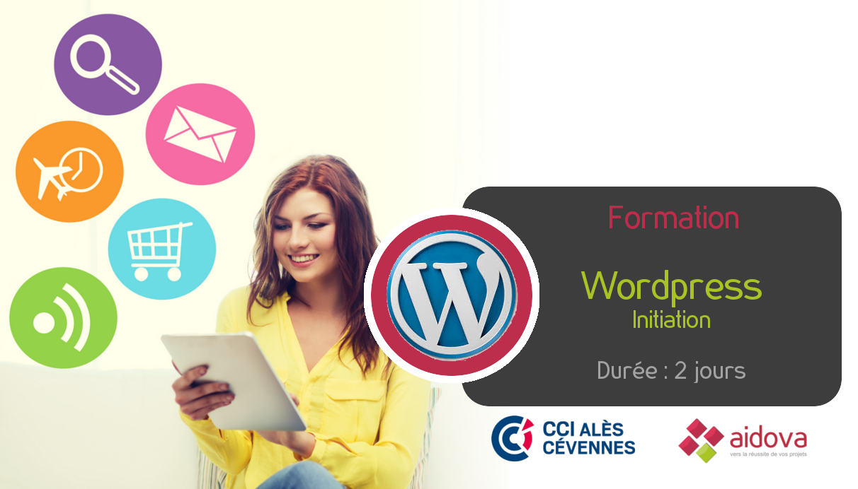 Formation WordPress (initiation) à la CCI d'Alès