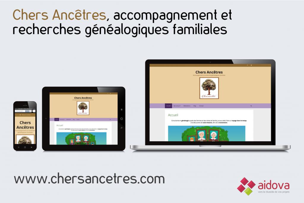 Site Web Chers Ancêtres