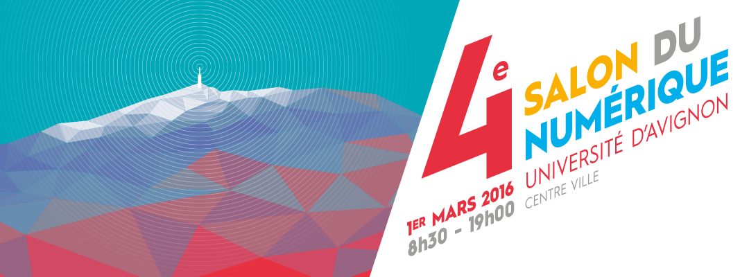 RDV au 4ème salon du numérique en Vaucluse le 1er mars 2016