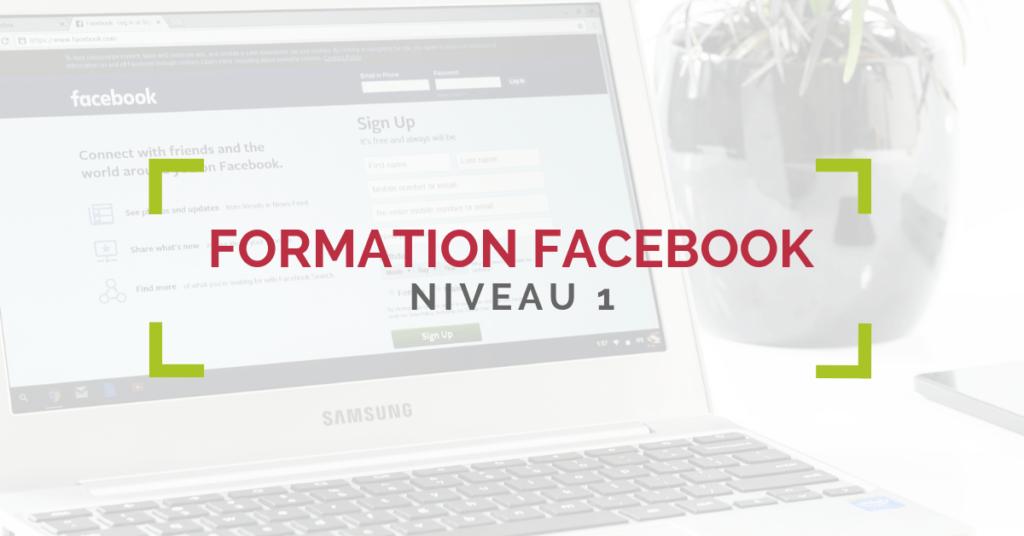 Formation Facebook Niveau 1, Gard et Vaucluse